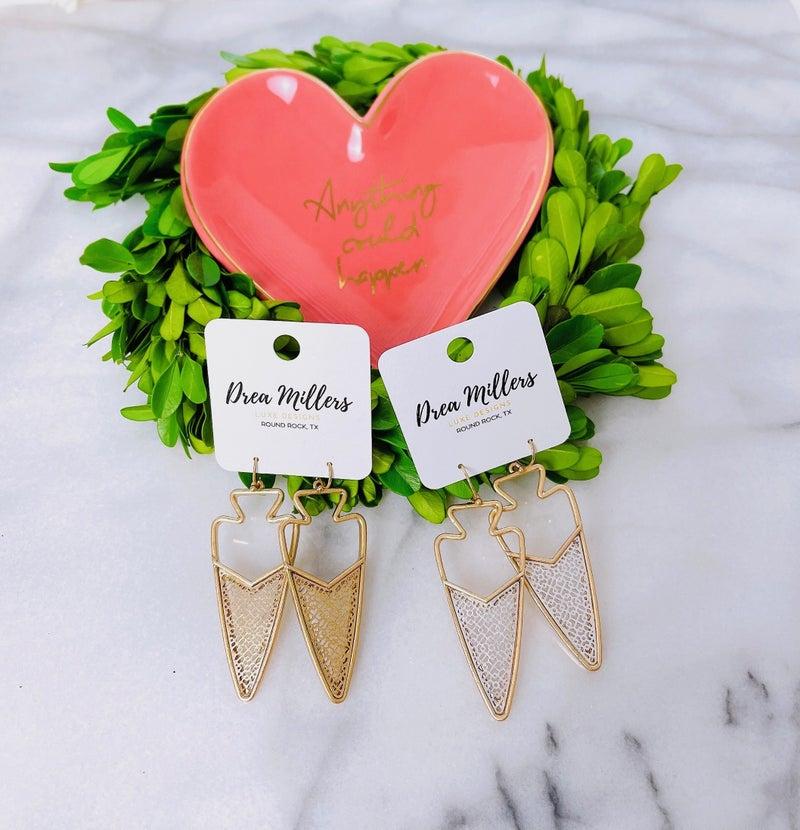 DM Arrow Earrings