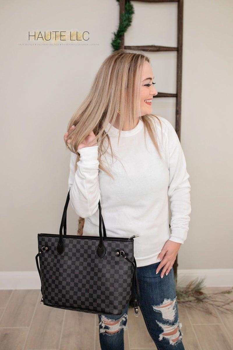 LG Designs Alternative Brand Sweatshirt in White