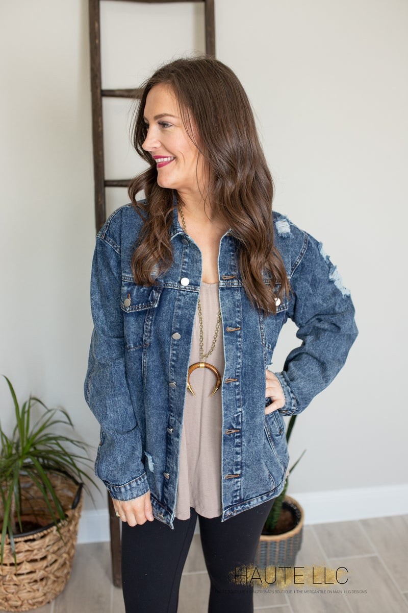 Indigo Dreams Denim Jacket