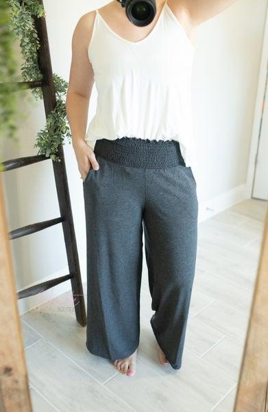 Gaucho Smocked Lounge Pants