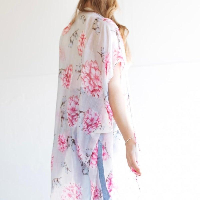 Rosie Floral Kimono