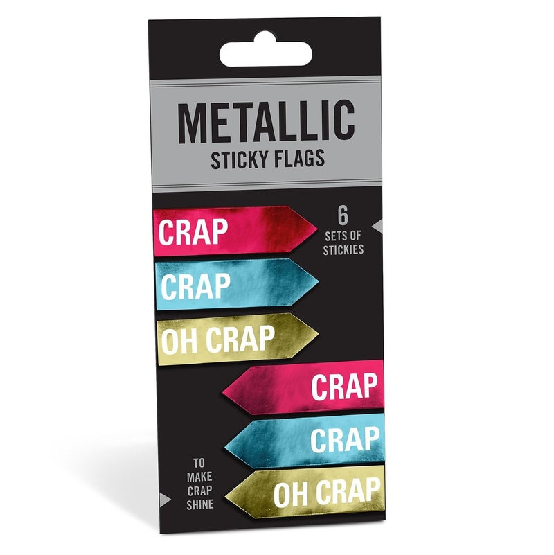 Crap/Oh Crap Sticky Flags