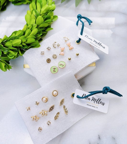 DM Gold Studs Collection