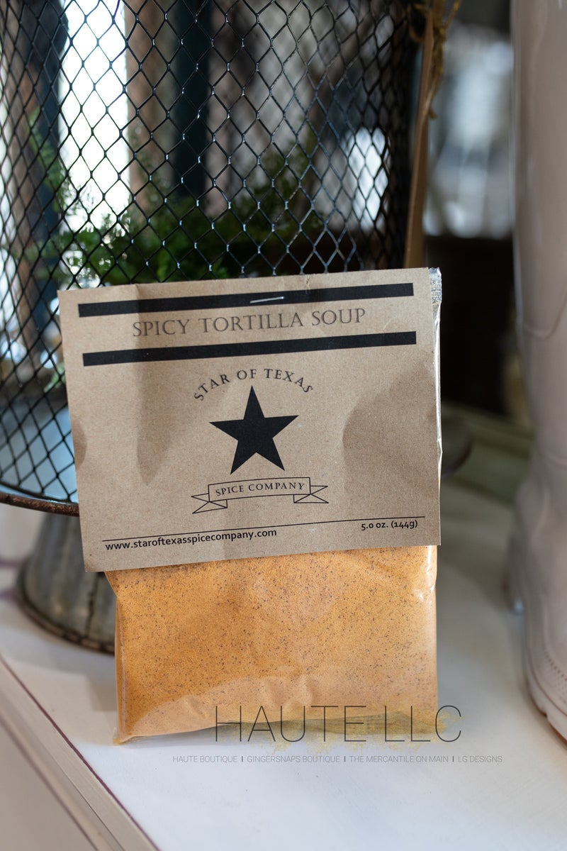 Spicy Tortilla Soup - Star of Texas *Final Sale*