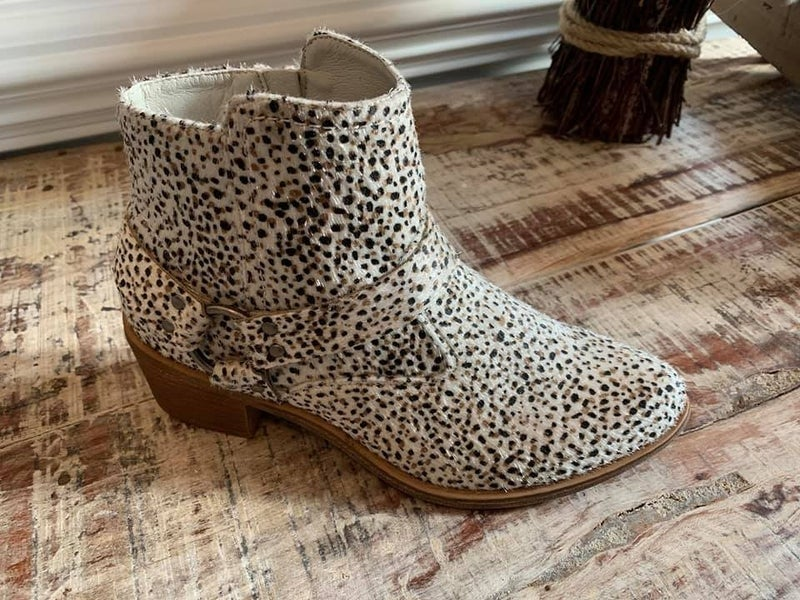 The Amber Bootie
