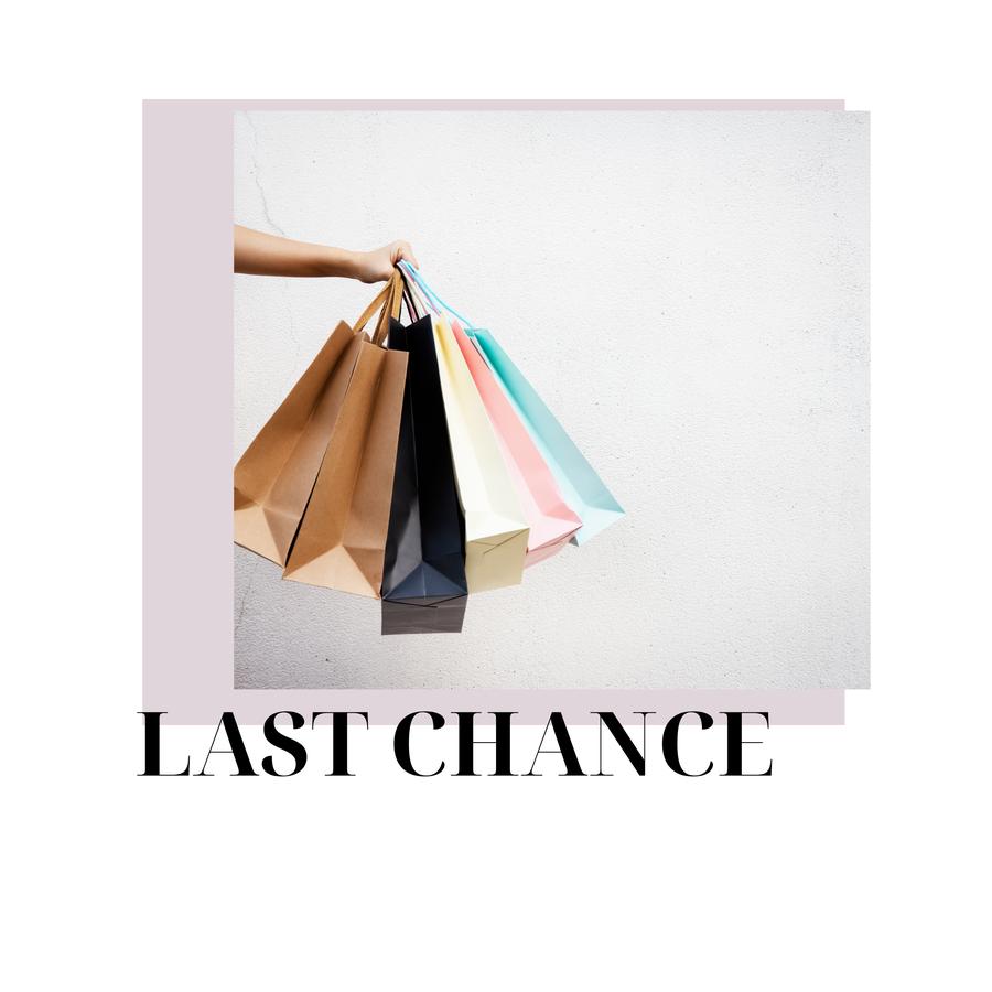 Last Chance Sales