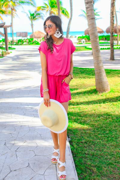 Miami Short Sleeve Romper
