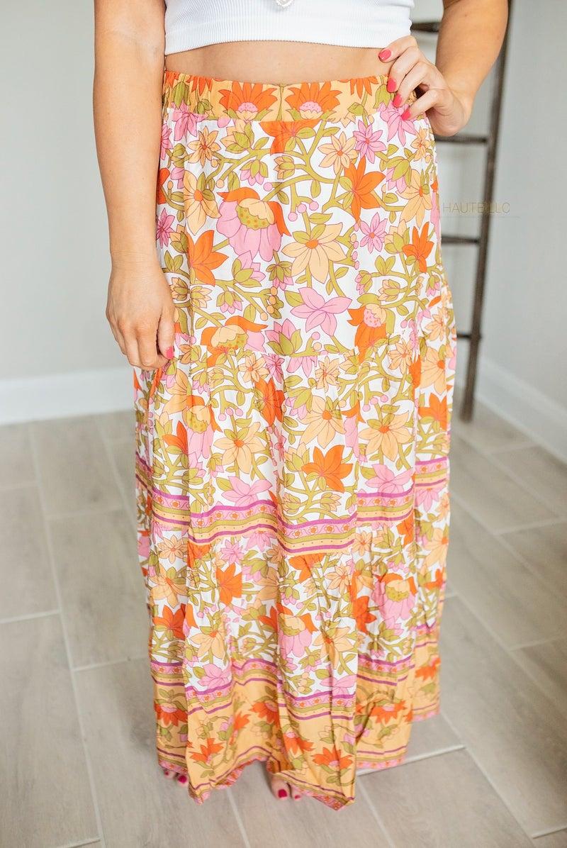 Flower Child Maxi Skirt