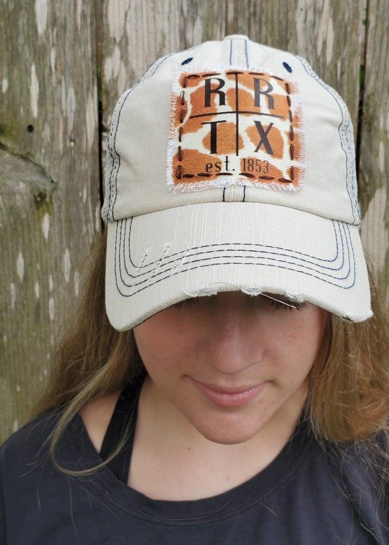 Stone White Trucker Hat