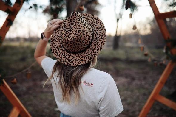 RR Felt Leopard Hat