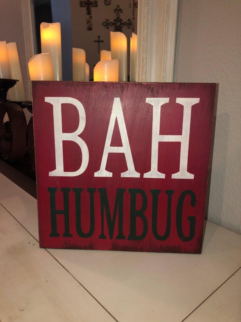 Bahhumbug Sign