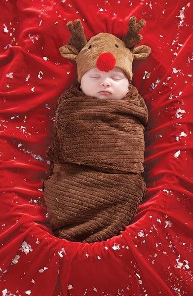 Reindeer Swaddle