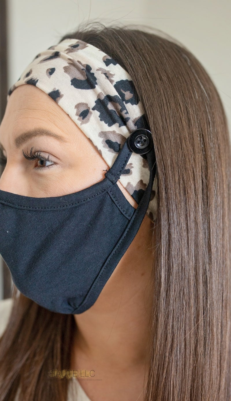 Preorder Button Headwrap *Final Sale*
