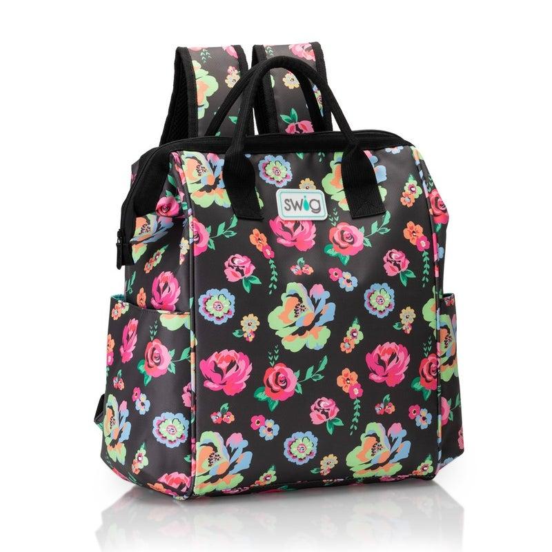 PREORDER Swig Fleur Noir Wireframe Backpack Cooler