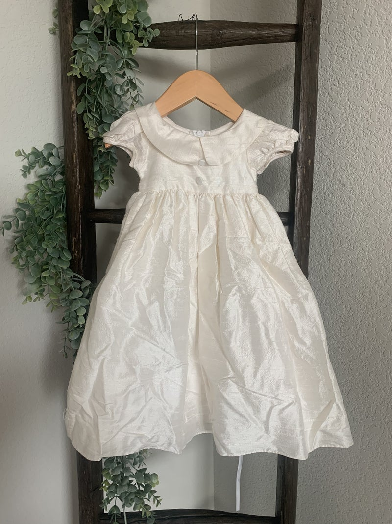 Traditional Christening Gown with bonnet *Final Sale*