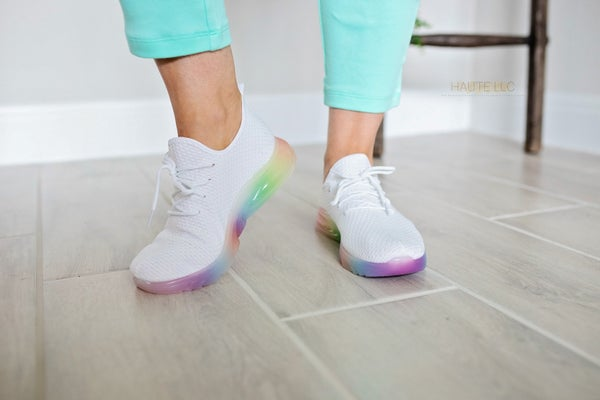 Touch of Fun Classic Sneakers - White *Final Sale*