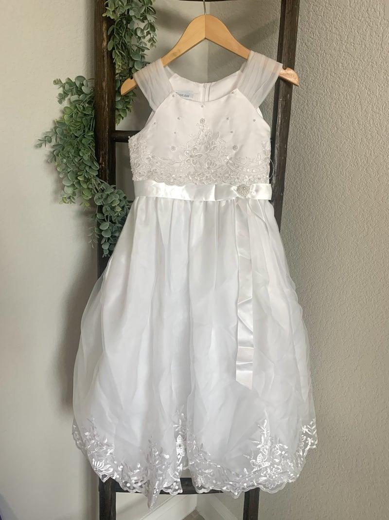 Organza Flounce Dress *Final Sale*