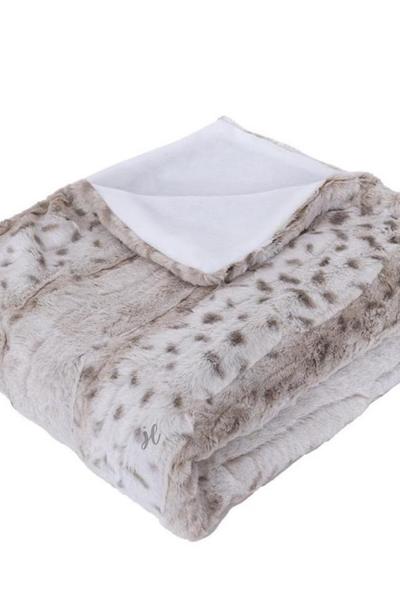 Sassy Animal Print Fleece Blanket