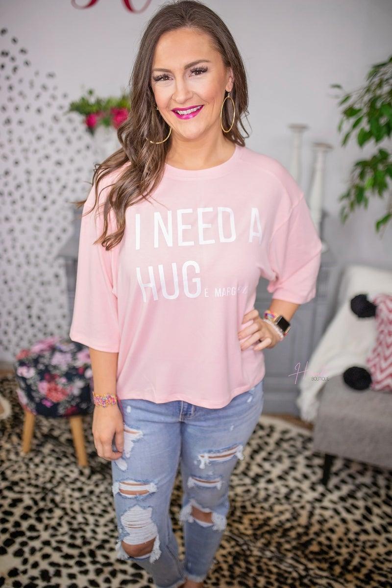 I Need a Hug(e margarita) Summer Pullover