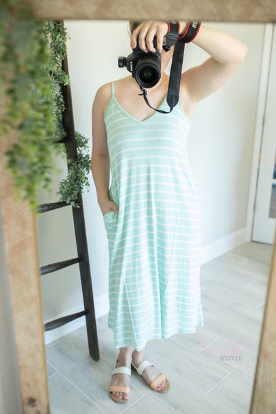Ready For The Weekend Dress - Mint