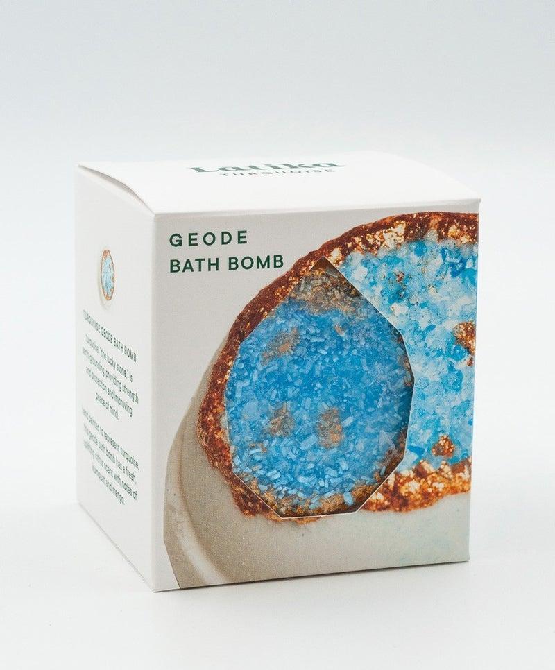 Turquoise Geode Bath Bomb