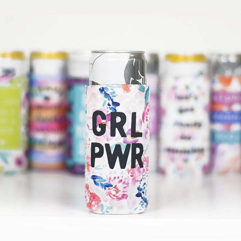 GRL PWR Slim Can Cooler