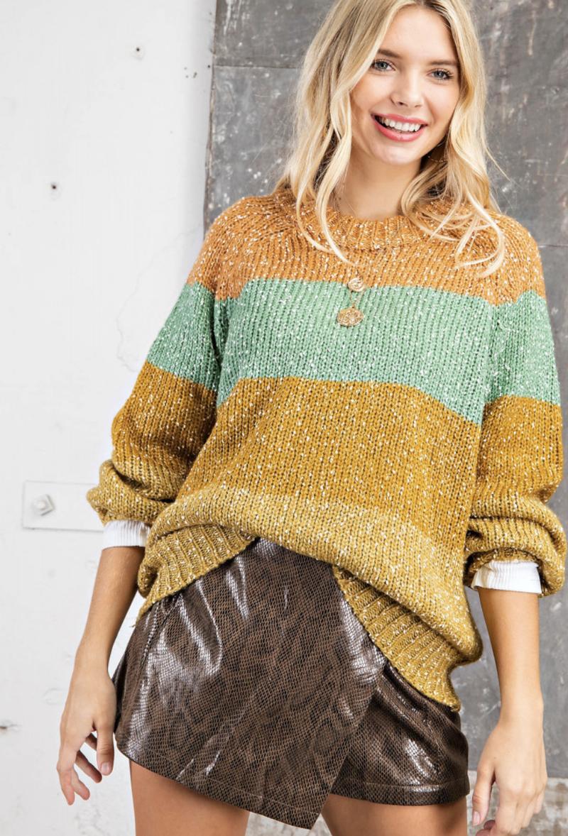 Victoria Colorblock Sweater