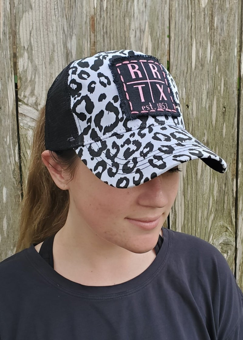 Dalmatian Print Trucker Hat