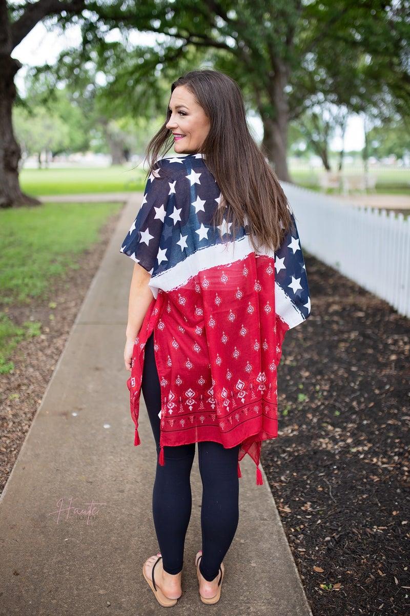 Stars & Stripes Kimono