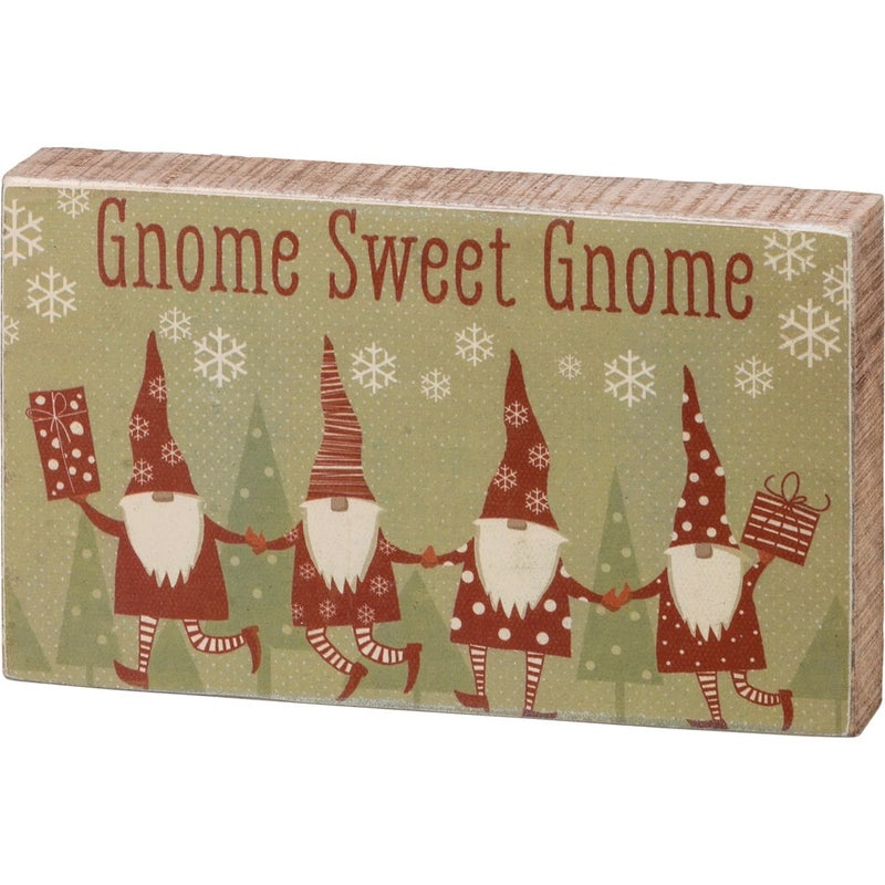 Gnome Sweet Gnome Sign