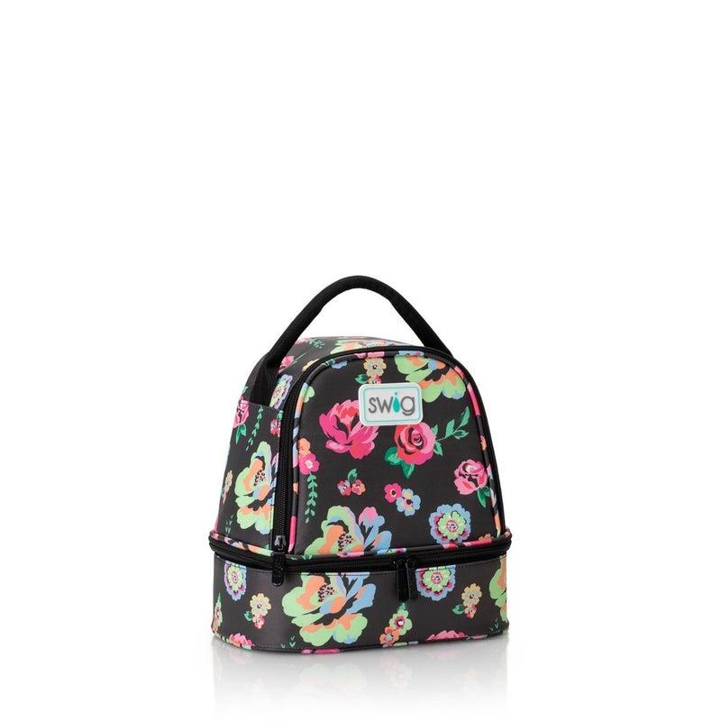 PREORDER Swig Fleur Noir Zippi Lunch Bag