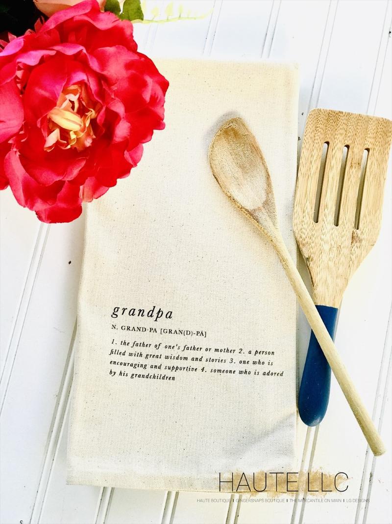 Grandpa Tea Towel