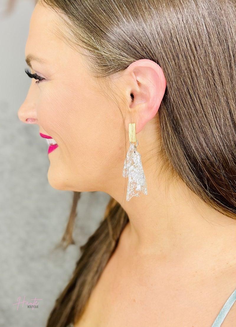 Shattered Drop Earrings