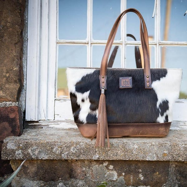 STS Classic Cowhide Tote