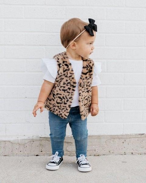 BB Barnum Leopard Vest