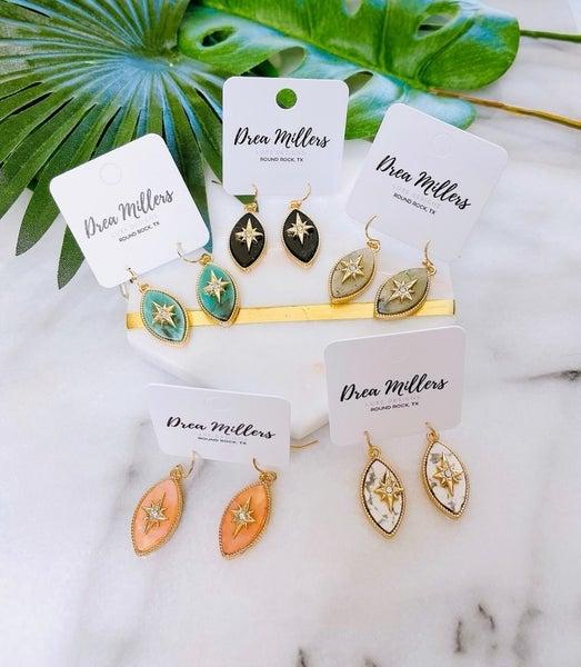 DM Starlight Semi-Precous Stone Earrings