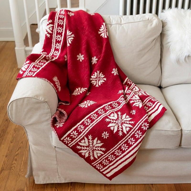 Nordic  Throw Blankets
