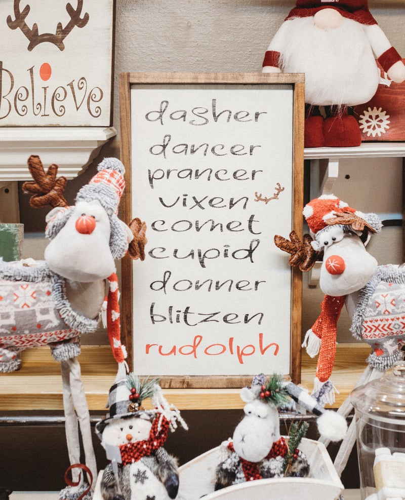 STS Reindeer List