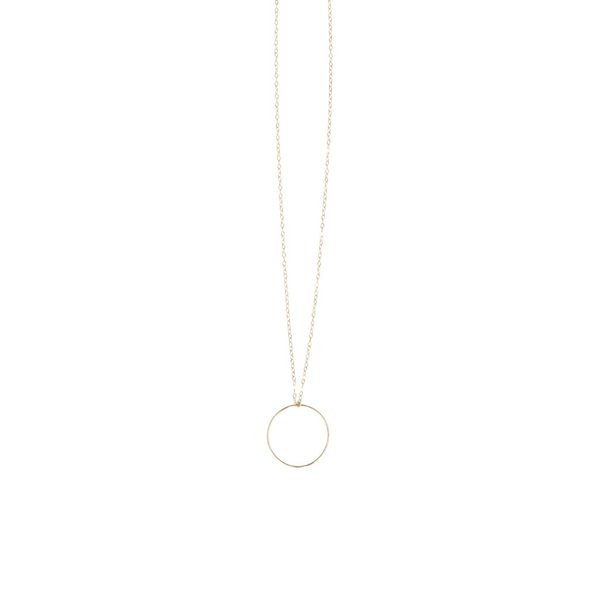 LP Long Hoop Necklace