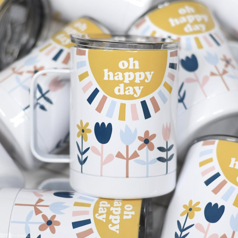 Oh Happy Day Travel Mug