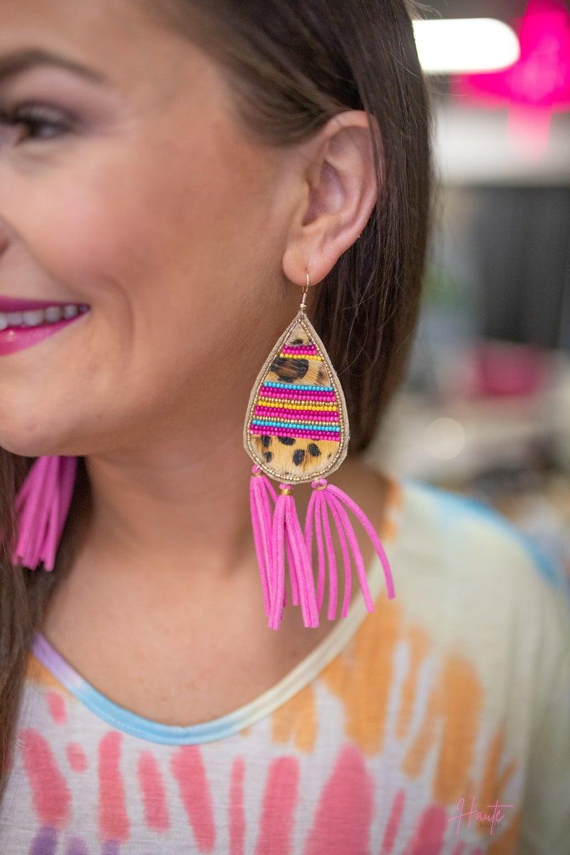 Ansley Tassel Drop Earrings