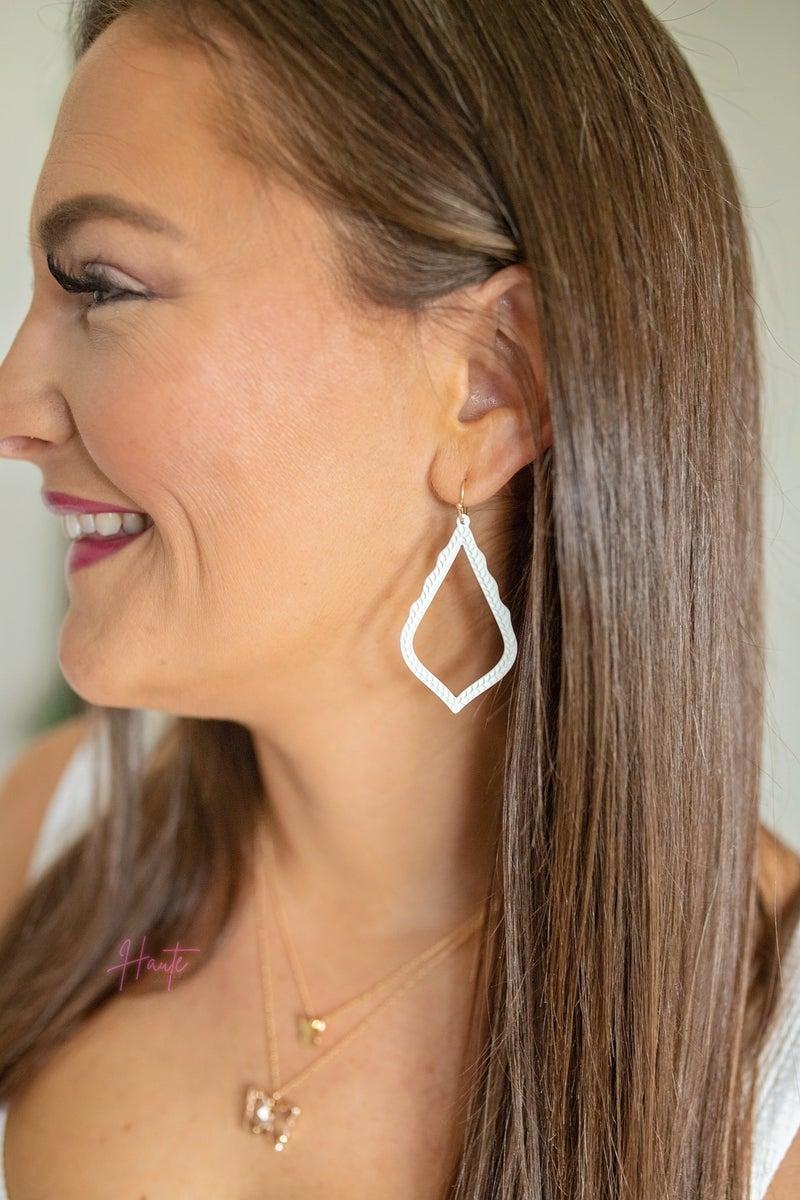 PRE-SALE Color Coated Moroccan Drop Earrings
