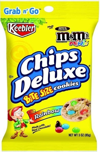 Keebler Deluxe Rainbow Cookie