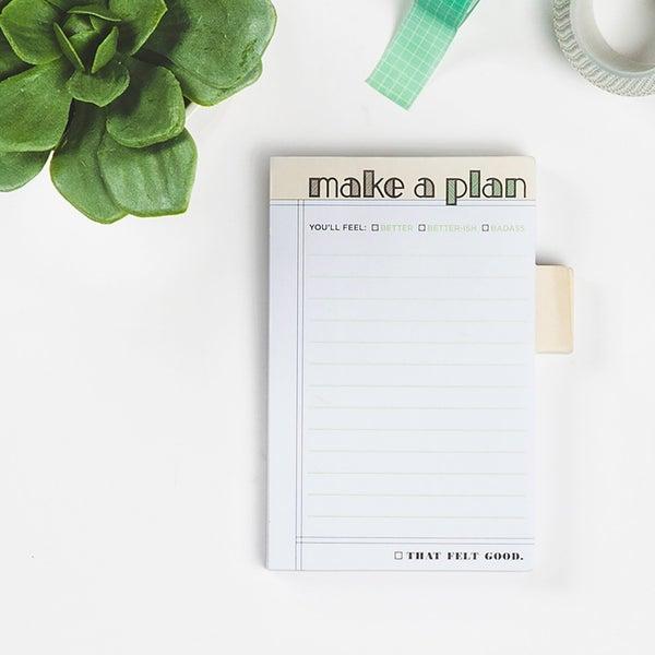 Make Plans Sticky Notes