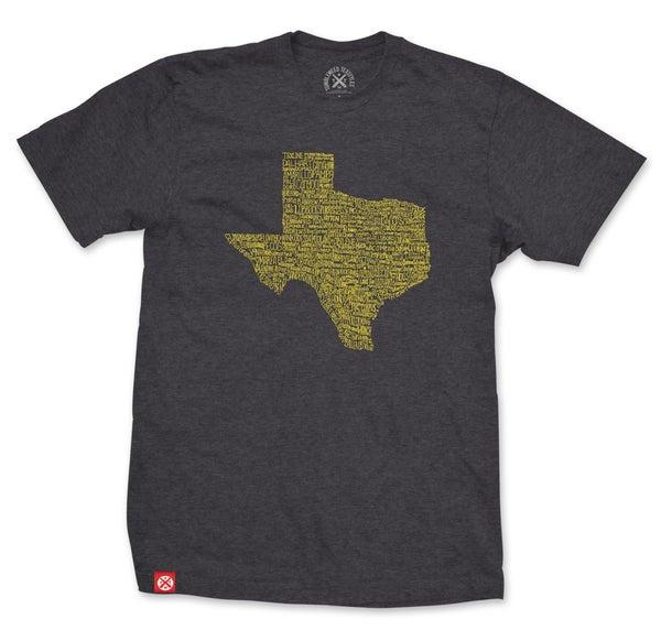 Texas Towns Tee