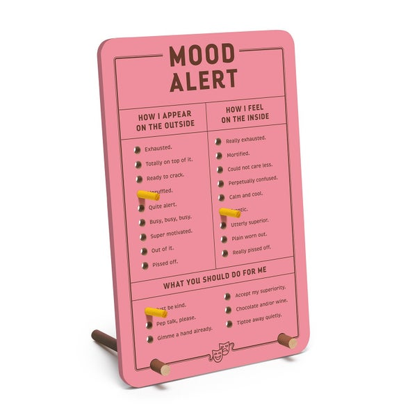 Mood Alert Pegboard
