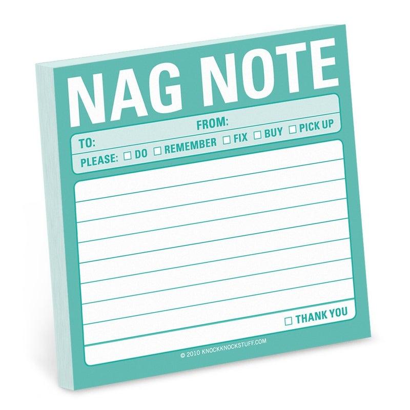 Nag Note Sticky Notes