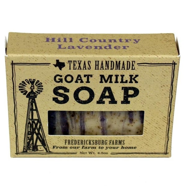 Fredericksburg Farms Goat Milk Bar Soap *Final Sale*