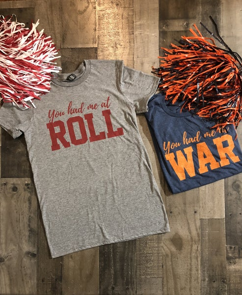 War and Roll Tees