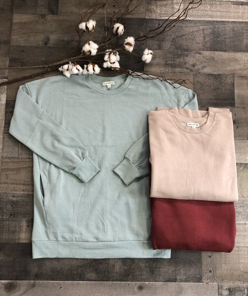 *New Colors* Sweatshirt with Pockets